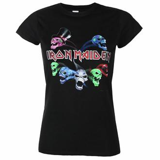 T-shirt pour femmes Iron Maiden - LOTB Live Album Skull - ROCK OFF, ROCK OFF, Iron Maiden