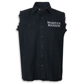 Gilet sans manches Marilyn Manson - Cross Logo - RAZAMATAZ, RAZAMATAZ, Marilyn Manson