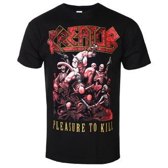 tee-shirt métal pour hommes Kreator - PLEASURE TO KILL - PLASTIC HEAD, PLASTIC HEAD, Kreator