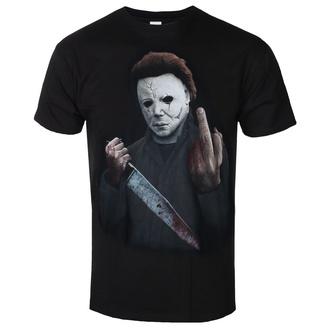 t-shirt de film pour hommes Halloween - MIDDLE FINGER - PLASTIC HEAD, PLASTIC HEAD, Halloween