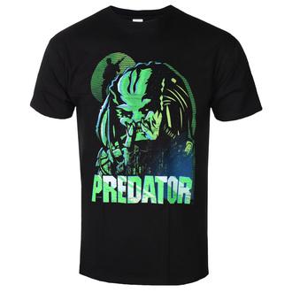 t-shirt de film pour hommes Predator - GREEN LINEAR - PLASTIC HEAD, PLASTIC HEAD, Predator