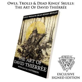 Livre Owls, Trolls & Dead Kings Skulls: The Art of David Thiérrée (signé), CULT NEVER DIE