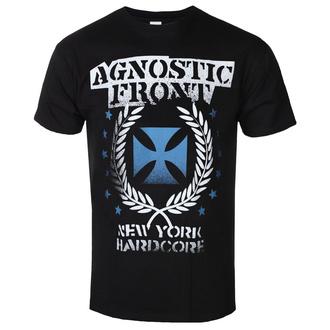 tee-shirt métal pour hommes Agnostic Front - BLUE IRON CROSS - PLASTIC HEAD, PLASTIC HEAD, Agnostic Front