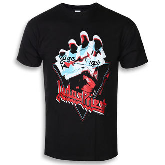 tee-shirt métal pour hommes Judas Priest - British Steel Hand Triangle - ROCK OFF, ROCK OFF, Judas Priest