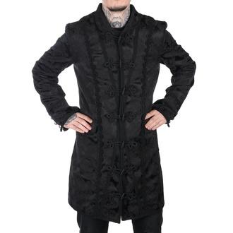 manteau pour hommes Aderlass - Classic Coat Brocade Noire, ADERLASS