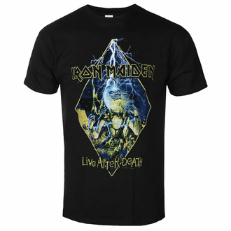 t-shirt pour homme Iron Maiden - Live After Death Diamond BL - ROCK OFF, ROCK OFF, Iron Maiden