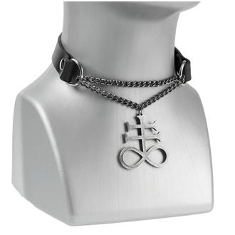 Collier/ ras de cou Léviathan, Leather & Steel Fashion