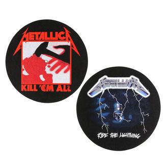 Tampon lecteur vinyles (ensemble de 2pcs) METALLICA - KILL EM ALL - BALADE LA ÉCLAIRAGE - RAZAMATAZ, RAZAMATAZ, Metallica