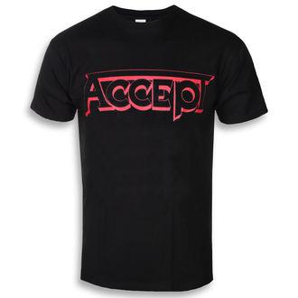 tee-shirt métal pour hommes Accept - LOGO 1 - PLASTIC HEAD, PLASTIC HEAD, Accept