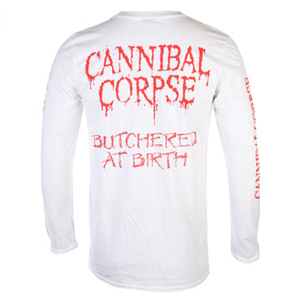 tee-shirt métal pour hommes Cannibal Corpse - BUTCHERED AT BIRTH - PLASTIC HEAD, PLASTIC HEAD, Cannibal Corpse