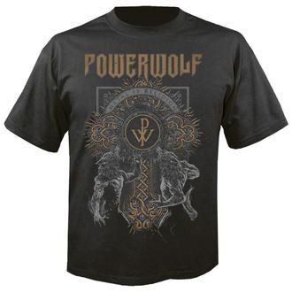 tee-shirt métal pour hommes Powerwolf - Wolf cross - NUCLEAR BLAST, NUCLEAR BLAST, Powerwolf