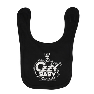 Bavoir Ozzy Osbourne - Ozzy Baby - Metal-Kids, Metal-Kids, Ozzy Osbourne