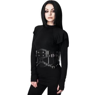 Corset (ceinture) pour femmes KILLSTAR - Havoc - NOIR, KILLSTAR