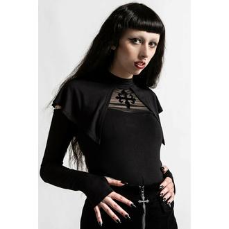 T-shirt pour femmes manches longues KILLSTAR - Aysling Cape - Noir, KILLSTAR