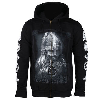sweat-shirt avec capuche pour hommes - THE ALMIGHTY TAUGHT ME TO FEAR NOTHING - VICTORY OR VALHALLA, VICTORY OR VALHALLA