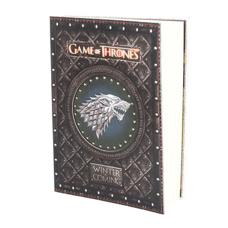 Cahier d'écriture Game of thrones - Winter is Coming, NNM, Game of Thrones