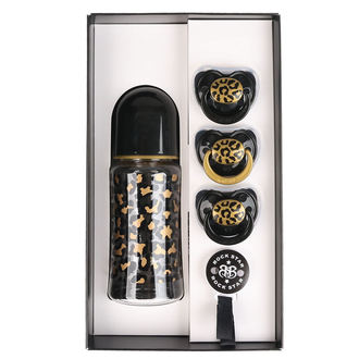 Coffret cadeau ensemble ROCK STAR BABY - GOLD LEOPARD, ROCK STAR BABY