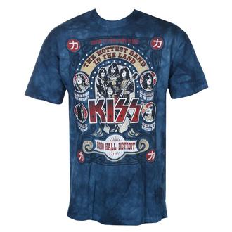 tee-shirt métal pour hommes Kiss - COBO HALL - LIQUID BLUE, LIQUID BLUE, Kiss