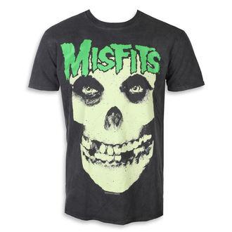 tee-shirt métal pour hommes Misfits - LARGE SKULL - PLASTIC HEAD, PLASTIC HEAD, Misfits