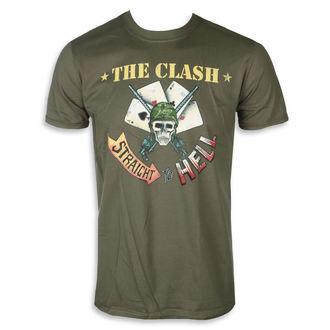 tee-shirt métal pour hommes Clash - STRAIGHT ACES - PLASTIC HEAD, PLASTIC HEAD, Clash