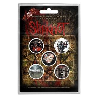 Badges Slipknot - Albums, RAZAMATAZ, Slipknot