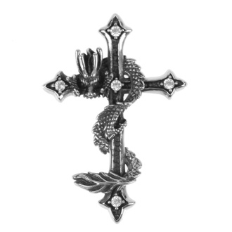 Pendentif collier ETNOX - Dragon Cross, ETNOX