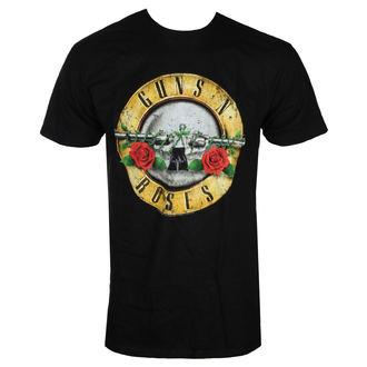 tee-shirt métal pour hommes Guns N' Roses - DISTRESSED BULLET - BRAVADO, BRAVADO, Guns N' Roses