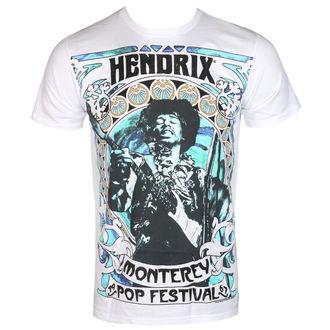tee-shirt métal pour hommes Jimi Hendrix - MONTEREY '67 - BRAVADO, BRAVADO, Jimi Hendrix