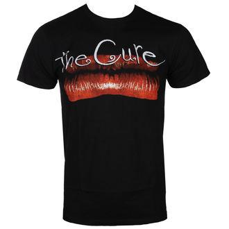 tee-shirt métal pour hommes Cure - KISS ME LIP BLK - BRAVADO, BRAVADO, Cure