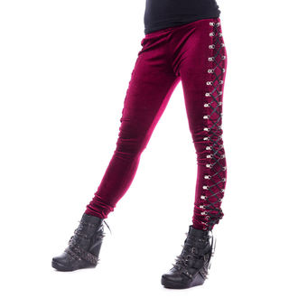 Pantalon pour femme (legging) CHEMICAL BLACK - BEETLE - ROUGE, CHEMICAL BLACK