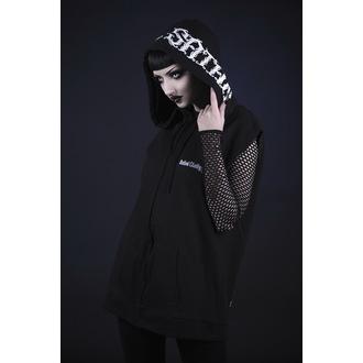 sweat-shirt avec capuche unisexe - hail satan - BELIAL - BEL029