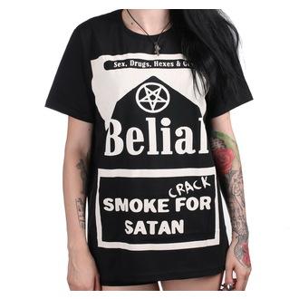 t-shirt unisexe - Smoke Crack for Satan - BELIAL, BELIAL