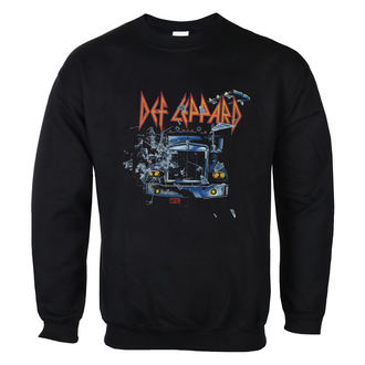 sweat-shirt sans capuche pour hommes Def Leppard - On through the night - LOW FREQUENCY, LOW FREQUENCY, Def Leppard