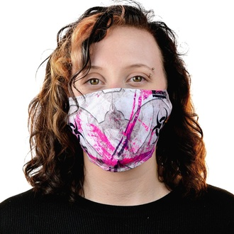 Masque CHEMICAL BLACK - BIOHAZARD - BLANC / ROSE, CHEMICAL BLACK