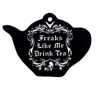 Décoration murale/ plat/ dessous de plat ALCHEMY GOTHIC - Freaks Like Me Drink Tea, ALCHEMY GOTHIC