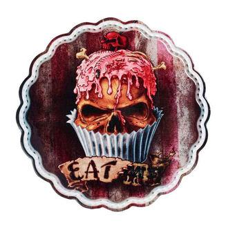Décoration (plat, dessous de plat) ALCHEMY GOTHIC - Skull Cupcake, ALCHEMY GOTHIC