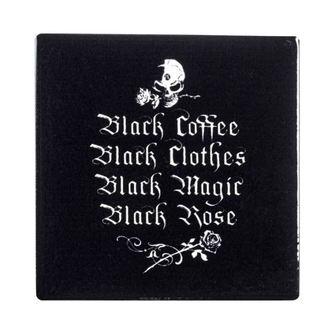 Dessous de verre ALCHEMY GOTHIC - Black Coffee, Black Clothes ..., ALCHEMY GOTHIC