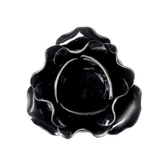 Bougeoir (décoration) ALCHEMY GOTHIC - Large Black Rose, ALCHEMY GOTHIC
