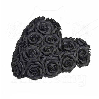 Décoration ALCHEMY GOTHIC - Black Rose Heart, ALCHEMY GOTHIC