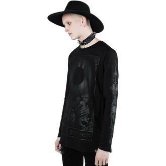 T-shirt unisexe à manches longues (Haut) KILLSTAR - Black Sun, KILLSTAR