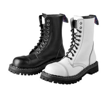 Bottes STEADY´S - 10 trous - Noir et blanc, STEADY´S