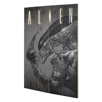 Peinture sur bois ALIEN (Head On Tail) - PYRAMID POSTERS, PYRAMID POSTERS, Alien - Vetřelec