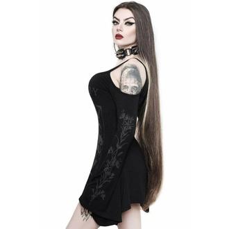 T-shirt pour femme à manches longues (Haut) KILLSTAR - Botany Cold Shoulder, KILLSTAR