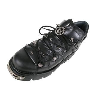 bottesen cuir - Prick Shoes (110-S1) Black - NEW ROCK, NEW ROCK