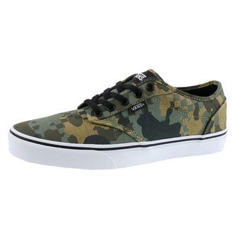 chaussures de tennis basses pour hommes - MN ATWOOD (CHECK FOX) - VANS, VANS