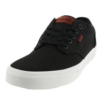 chaussures de tennis basses pour hommes - ATWOOD (CHECK FOX) - VANS, VANS