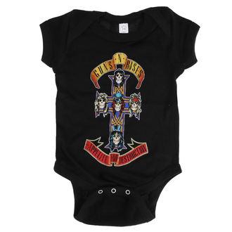 Body enfants Guns N' Roses - AFD CROSS ONESIE - NOIR - BRAVADO, BRAVADO, Guns N' Roses