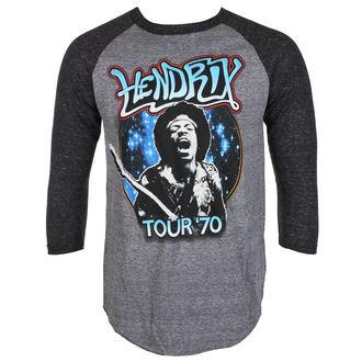 tee-shirt métal pour hommes Jimi Hendrix - AUTHENTC 70 TOUR - BRAVADO, BRAVADO, Jimi Hendrix