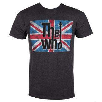 tee-shirt métal pour hommes Who - UNION JACK LOGO - BRAVADO, BRAVADO, Who