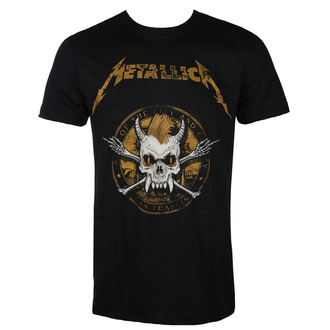 tee-shirt métal pour hommes Metallica - Scary Guy Seal Black -